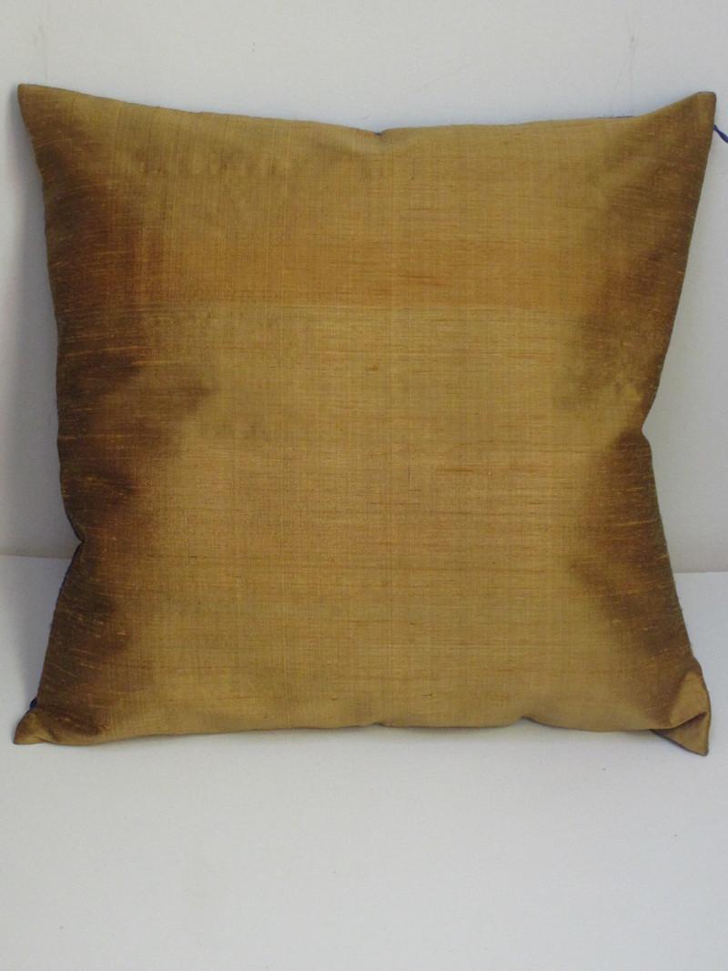 housse de coussin artisanale en soie sauvage paisse de 2. Black Bedroom Furniture Sets. Home Design Ideas
