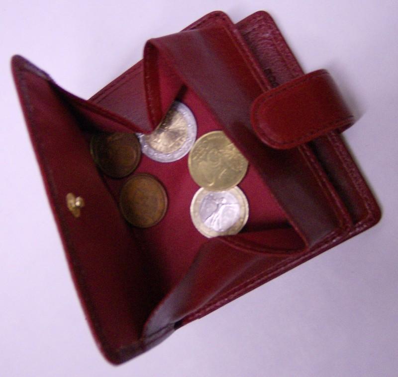 Porte monnaie portefeuille cohou cohou chaussures maroquinerie cordonnier - Porte monnaie trieur pieces ...