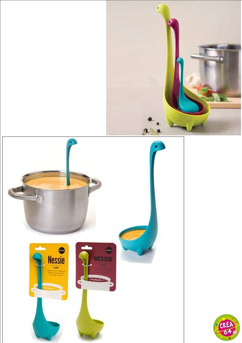 Awesome louche nessie pa design tout pour la cuisine crea for Objets decoratifs pour cuisine