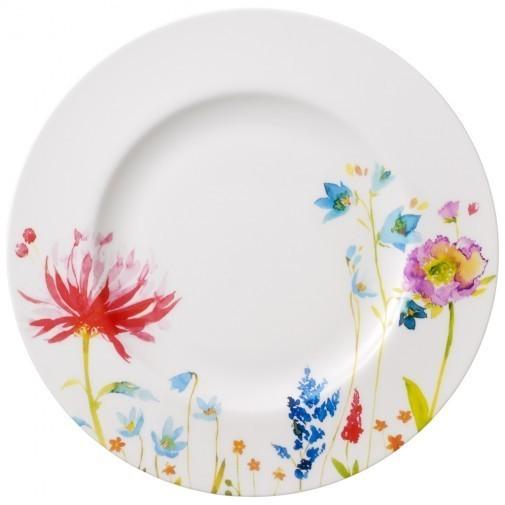 Anmut flowers assiette plate villeroy et boch for Art de cuisine plates