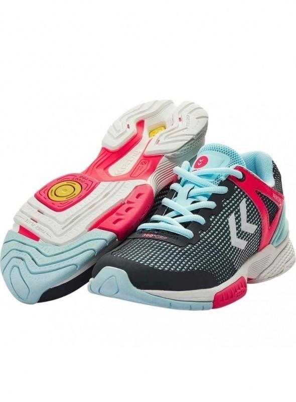 16c0e28c78933 Chaussure Handball Femme Hummel Aero HB 180 2.0 - Claverie sports ...