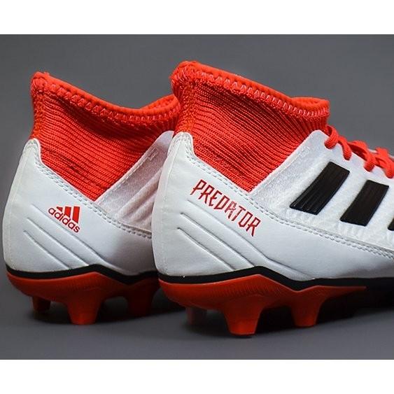 3 18 Fg Adidas Predator Blancrouge Football Claverie De Crampons 7qFXAA