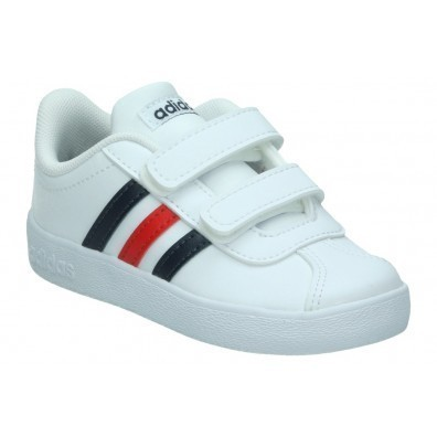 Baskets Vl Court 2.0 Blanc Hadidas