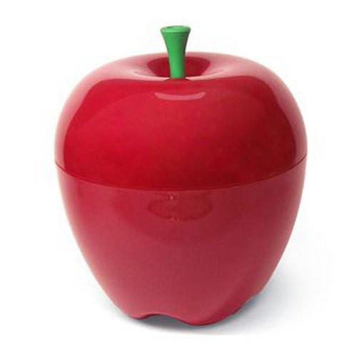 Saladier pomme rouge qualy oloron objet du for Objet deco design rouge