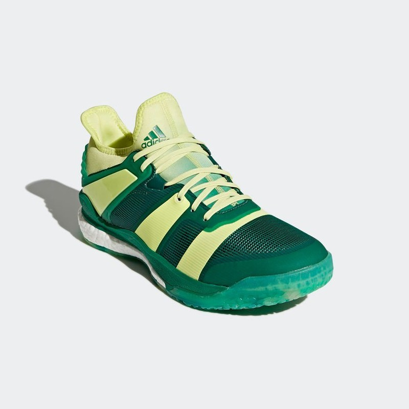 best loved 50199 3d2c8 Adidas STABIL X Yellow Collegiate Green Claverie Sports