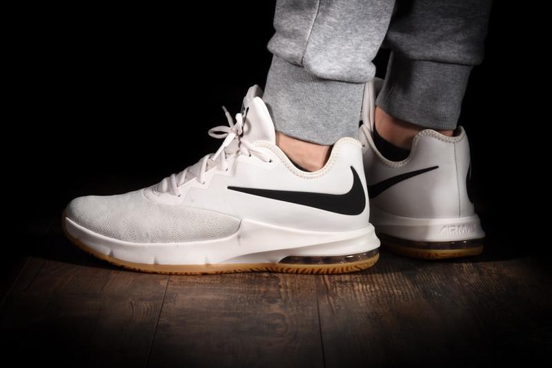 ramasser 7226f e1666 Chaussure de Basketball Homme Nike Air Max Infuriate 3 White