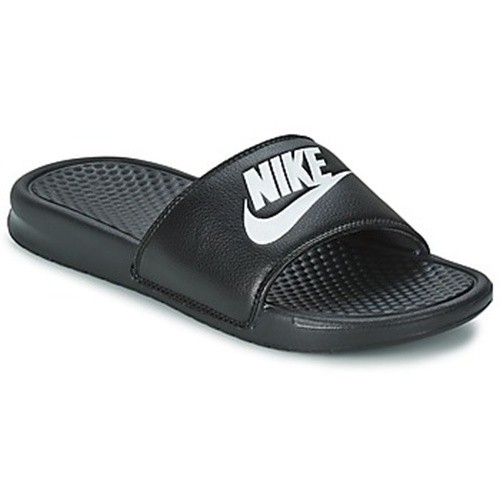 claquettes nike benassi just do it sandal noires. Black Bedroom Furniture Sets. Home Design Ideas